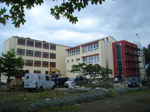 Erich Weinert Schule - Heizzentrale
