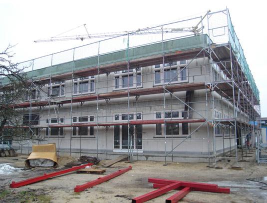 Erweiterungsbau an der Diesterweg Schule in Falkensee